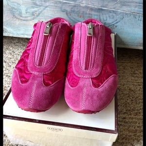 Beautiful hot pink slip ins by Coach 8 m